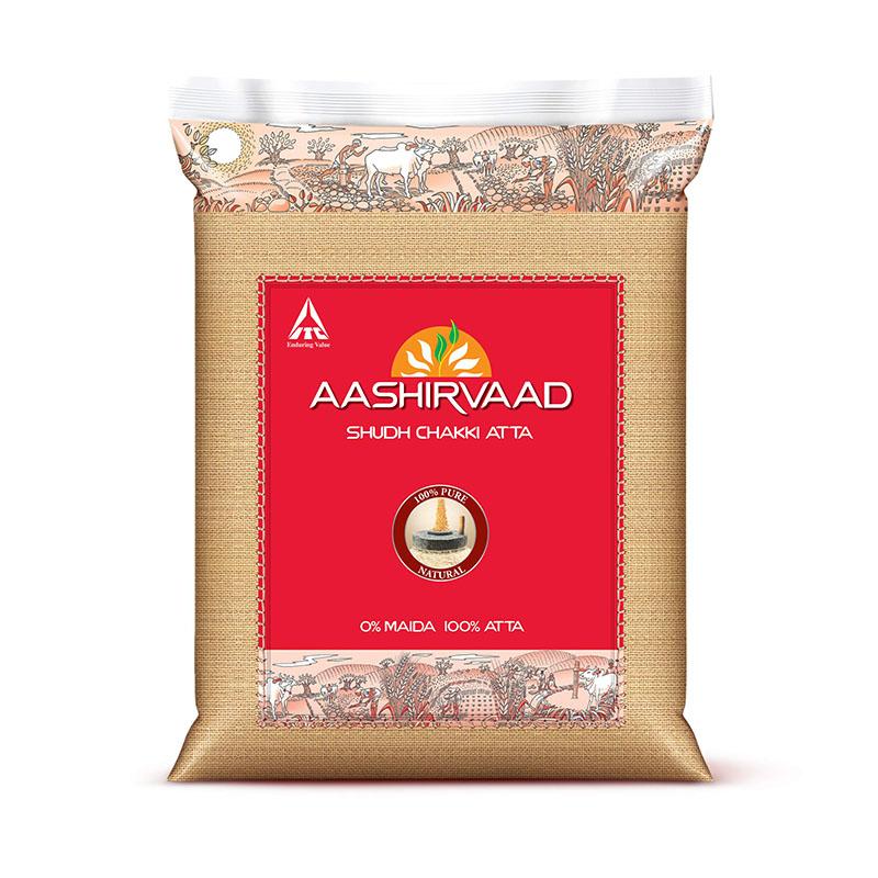Aashirvaad (Export Pack) Chakki Atta Flour