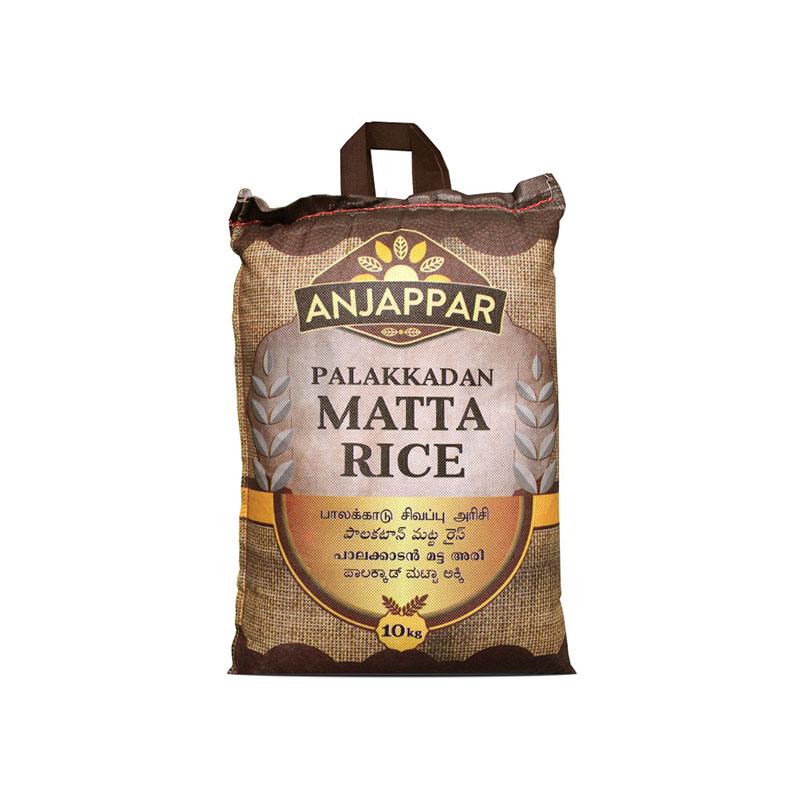 Anjappar Palakkadan Matta Boiled Rice