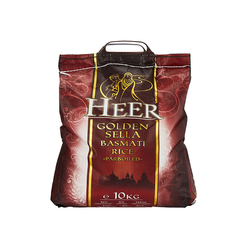 Heer Golden Sella Basmati Rice (Parboiled)