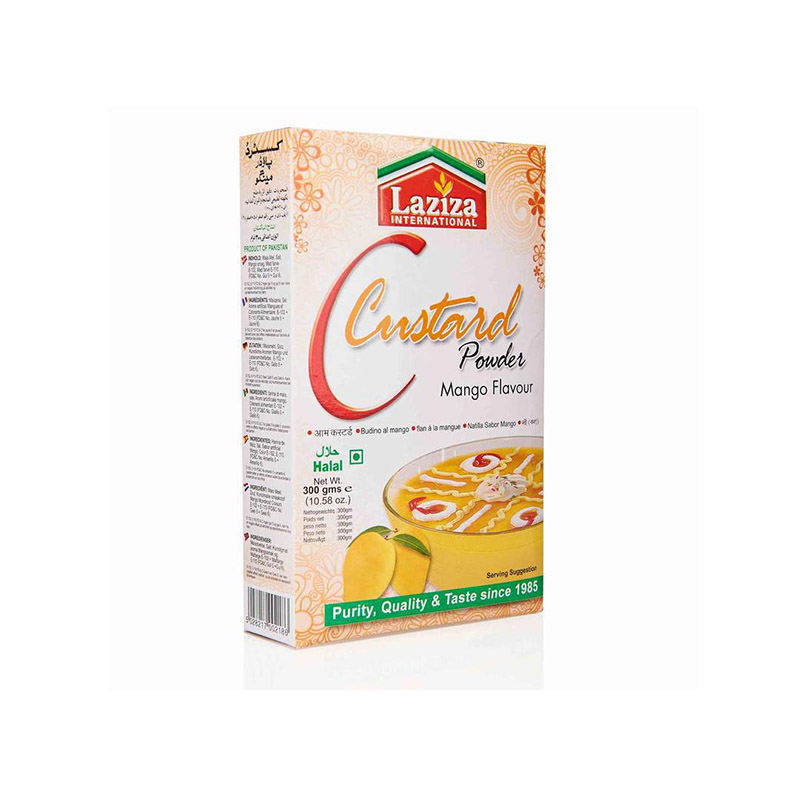 Laziza  Custard Mango