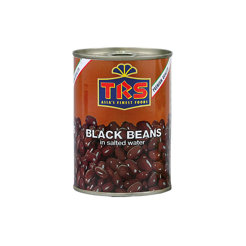 TRS Boiled Black Beans In Can