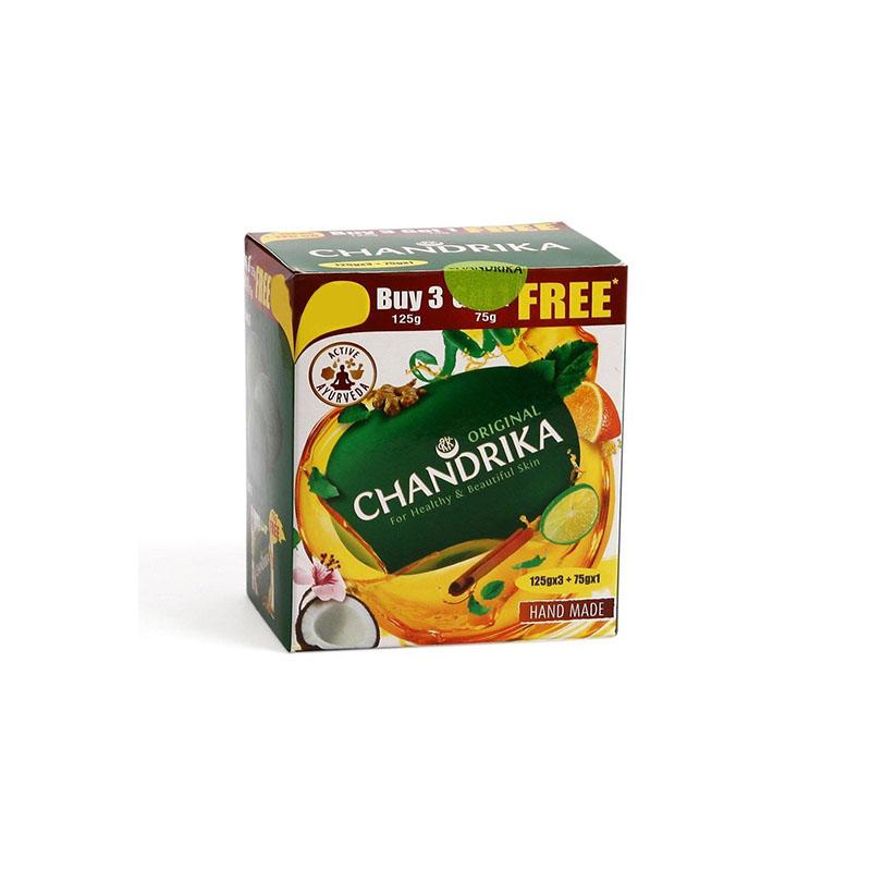 Chandrika   Ayurvedic Soap Pack of 3