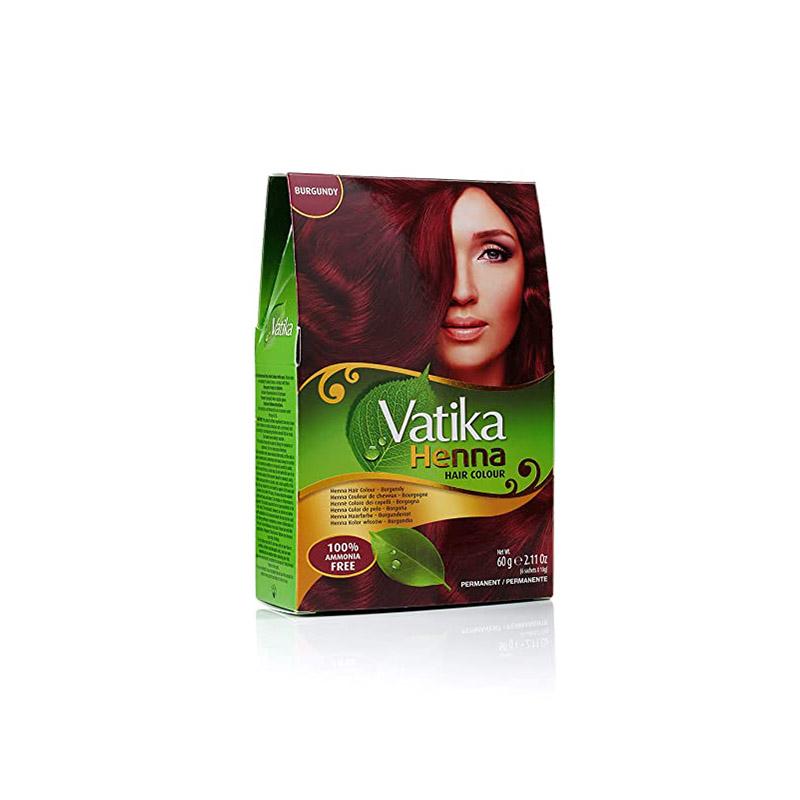 Vatika Hair Colour Burgundy