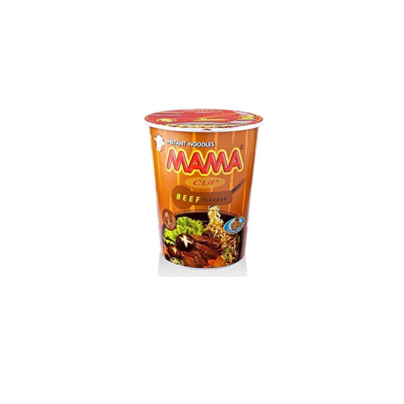 MamaSweet Beef Flavor Instant Noodles