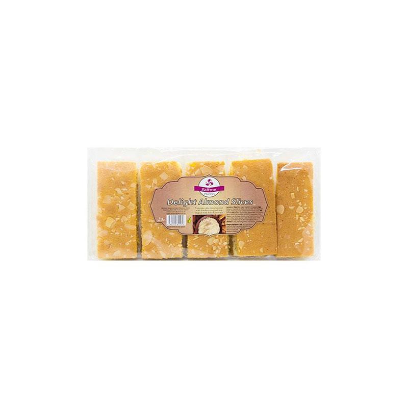 SaffronDelight Almond Slices