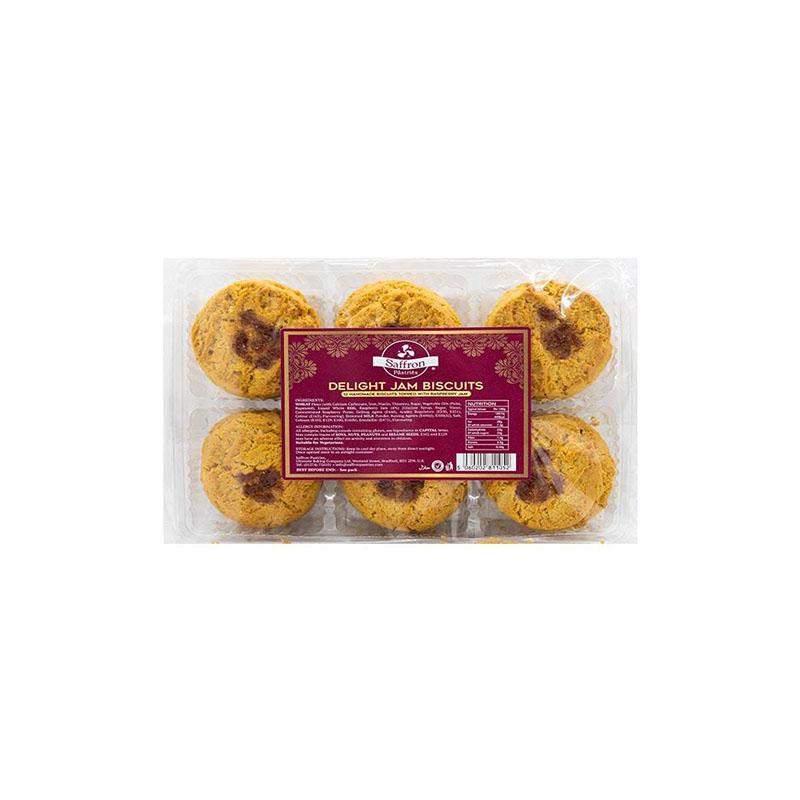 Saffron Delight Jam Biscuits