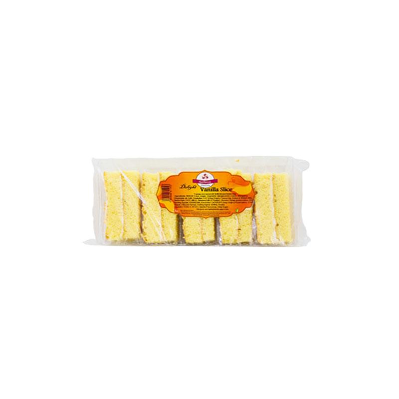 SaffronDelight Vanilla Slice