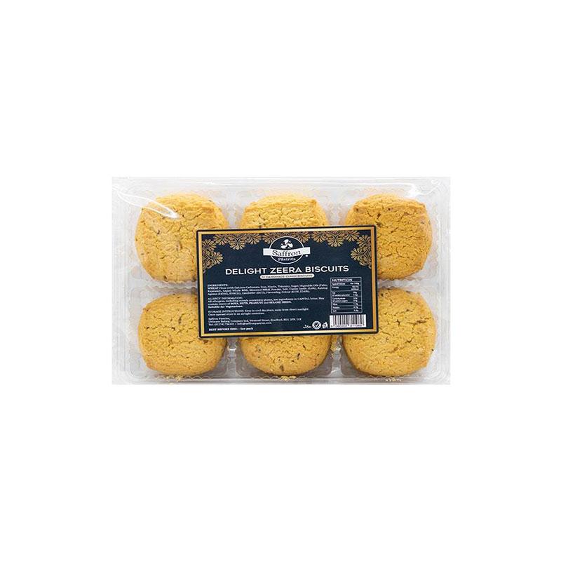 Saffron    Delight Zeera Cookies