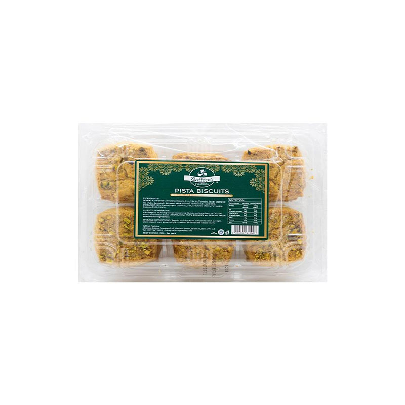 SaffronPista Biscuits