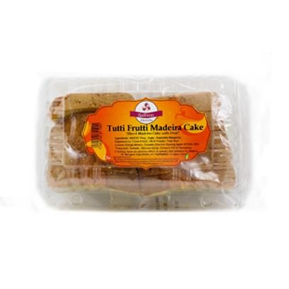SaffronTutti Fruiti Madeira Cake Slices