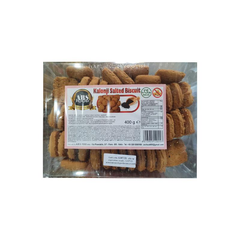 ARS Kalonji Salted Biscuit 40,45 Pes