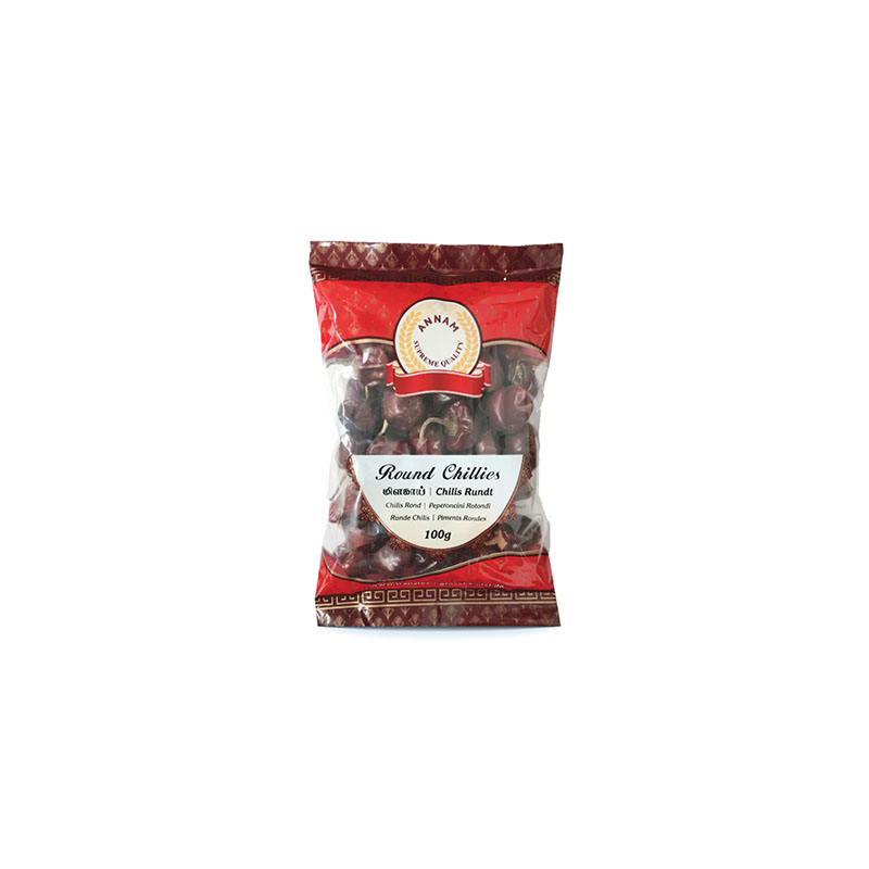 Annam Dried Round Chillies Whole