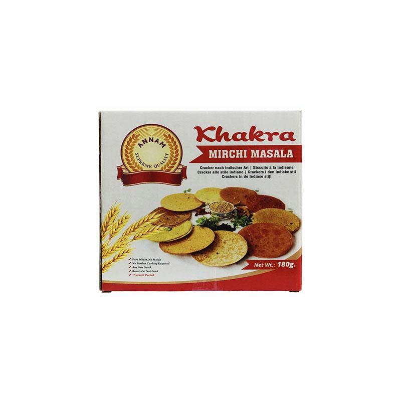 Annam Khakra Mirchi Masala Cracker