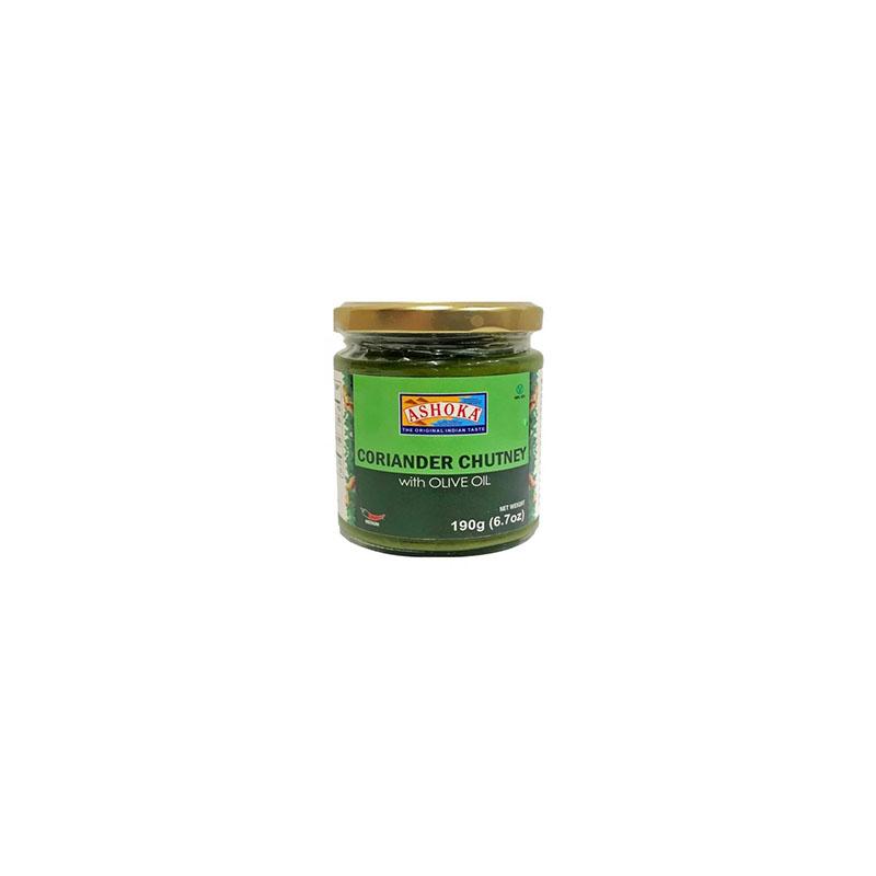 Ashoka Coriander Chutney with Olive Oil