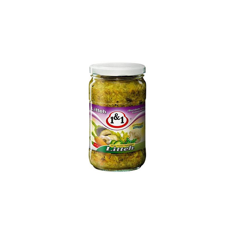 1&1 Torshi Lite  Chopped Pickled Vegetables Sauer 630g