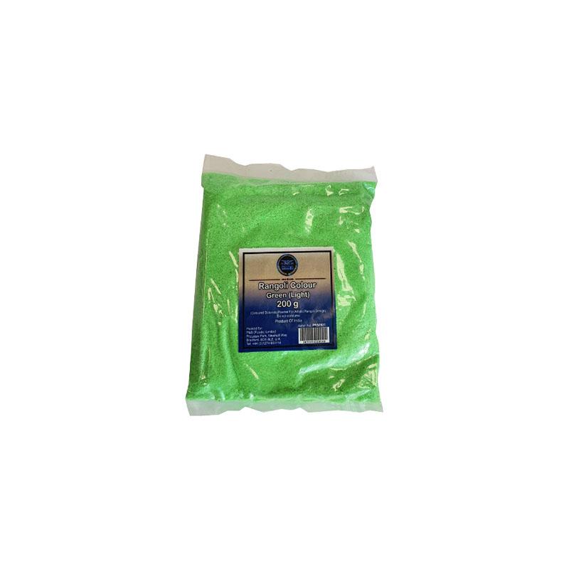 Heera Rangoli Colour Green (Light) 200g