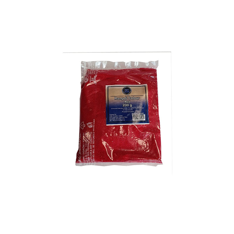Heera Rangoli Colour Red 200g