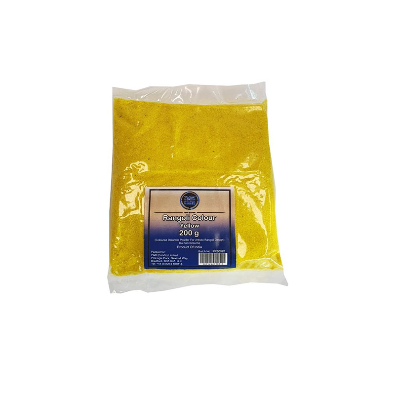 Heera Rangoli Colour Yellow 200g