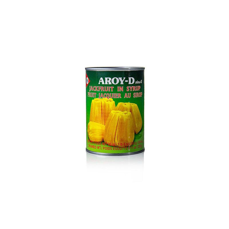 Yellow Sweet Jack Fruit in Syrup